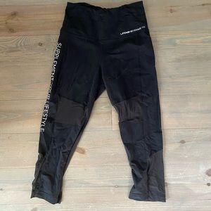 Fitaid x Reebok cropped, mesh leggings - hi rise